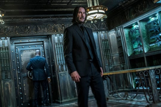 "Keanu Reeves returns as John Wick in ""John Wick: Chapter 3 – Parabellum."""