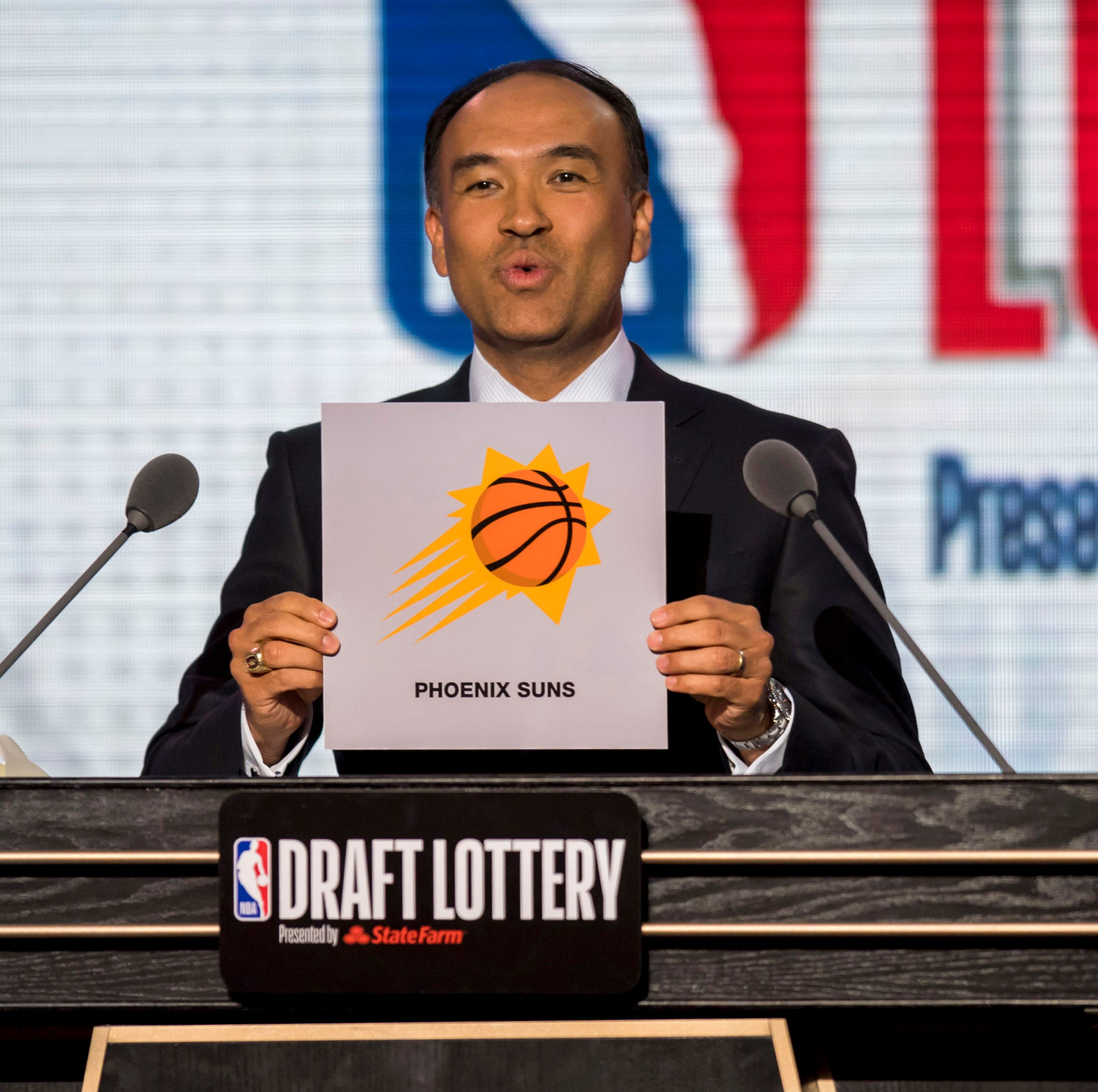 NBA draft lottery odds: Suns, Knicks and Cavaliers have same chance at No. 1 pick