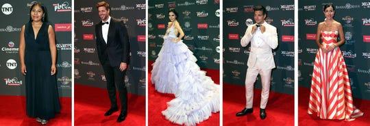 Glamour y color en la alfombra roja de los Premios Platino de Cine Iberoamericano 2019.