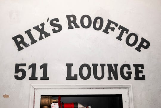Rix's Rooftop has closed after about two years of business.