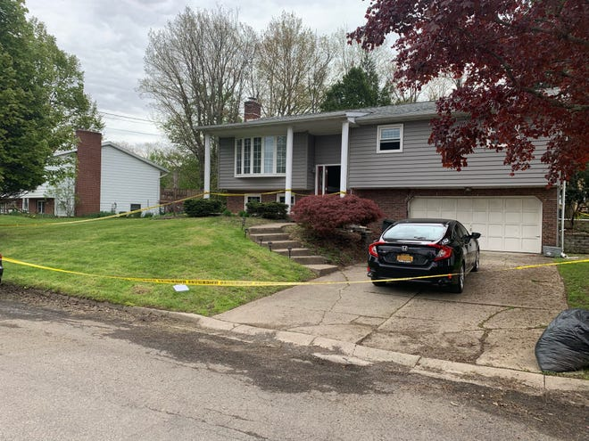 Two York County men are charged with second-degree murder in New York. Police said Michael J. McVicker, 46, and Curtis Cuttino, 40, killed Brian Argro, 32, in a home invasion in Apalachin, Tioga County, New York, on Thursday, May 9. Photo courtesy of New York State Police.