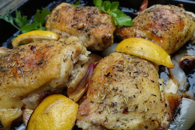 Chicken Provencal is a perfect dish to make in a toaster oven