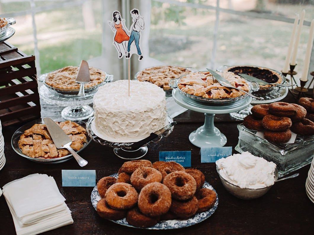 Taryn Blake Events, a York-based wedding and event planning company, put together this eclectic dessert table for a wedding at Historic Shade Lane in East Manchester Township. Forbes recently featured the company in an online article about entrepreneurs who are shaking up the wedding industry.