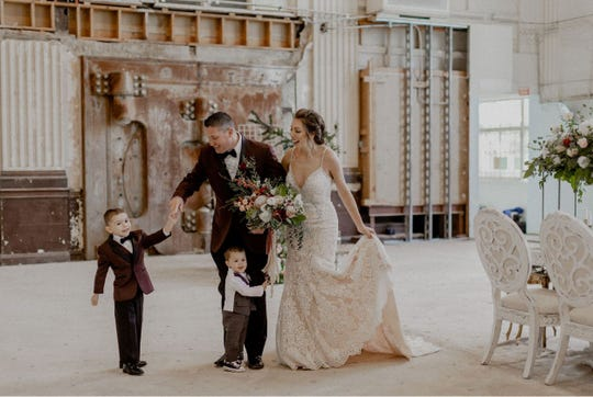 """Taryn Blake, owner of Taryn Blake Events, put together this deluxe """"chillopement"""" at the former Western National Bank on West Market Street in York City last December. Blake planned everything and surprised the couple. Eight people attended the special event."""