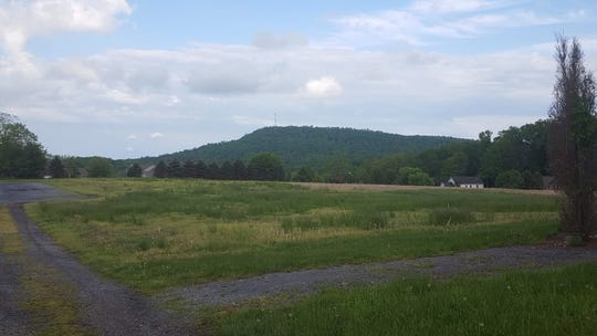 Blair Mountain, looking southeast.