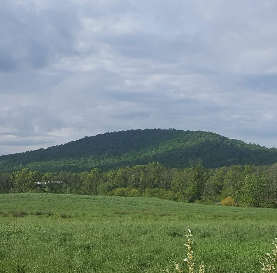 The mountains and hills of York County have names. Can you ID them?