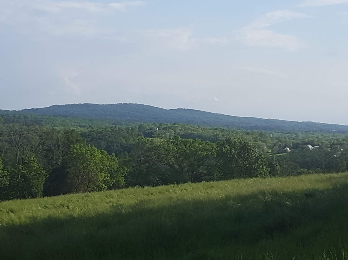 Conewago Mountain, looking south.