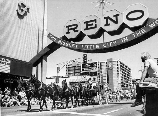 "Reno is home to the ""wildest, richest rodeo in the west,"" which turns 100 this year."