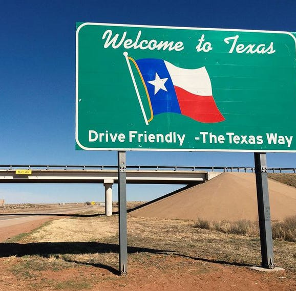 Where is Texas' growing population coming from?