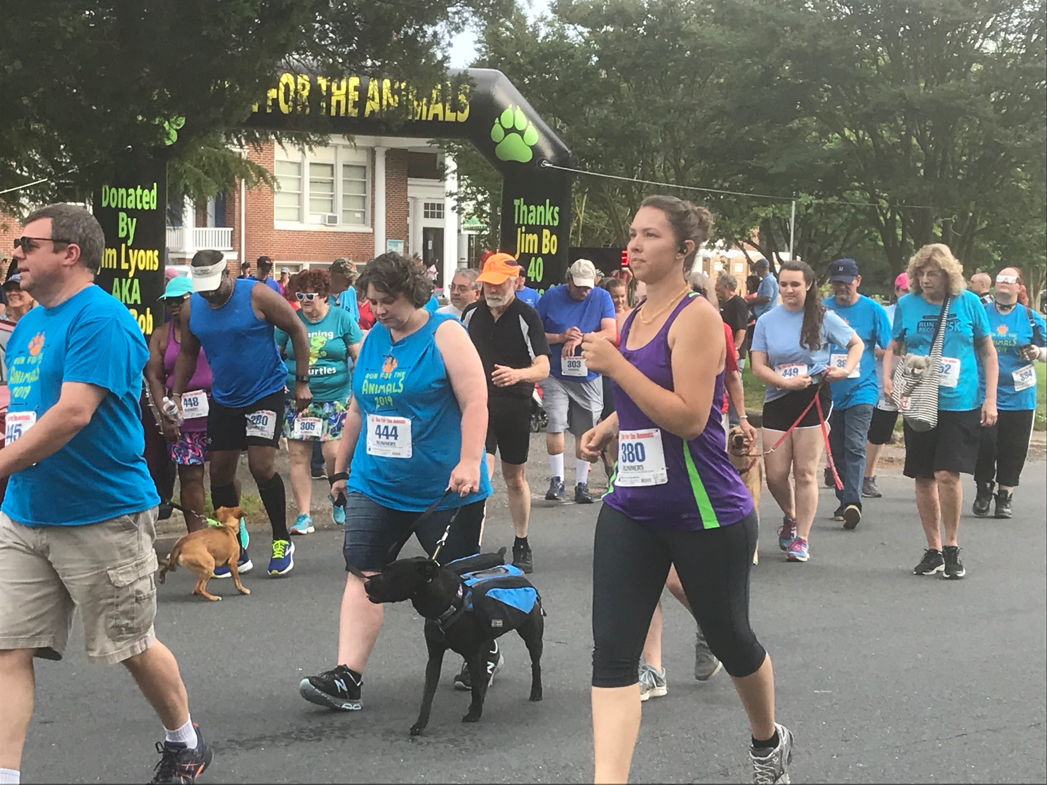 The 2019 Run for the Animals was held in Onancock, Virginia on Saturday, May 11, 2019.