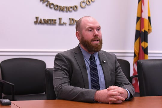 Wicomico County Deputy State's Attorney Billy McDermott speaks about the Barbara Pilchard animal cruelty case on Monday, May 13, 2019.