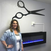Marcee Zimmermann owns Avid Salon is one of the three stylists there.