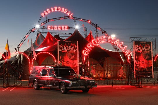Paranormal Cirque, an R-Rated circus, show runs in Shreveport May 16-19 at the Louisiana State Fairgrounds.