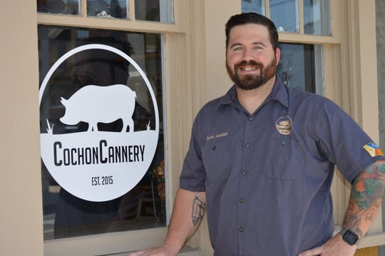 Dustie Latiolais, of Cochon Cannery in Breaux Bridge, is a special guest chef for the 2019 Wine & Swine Festival in Shreveport.