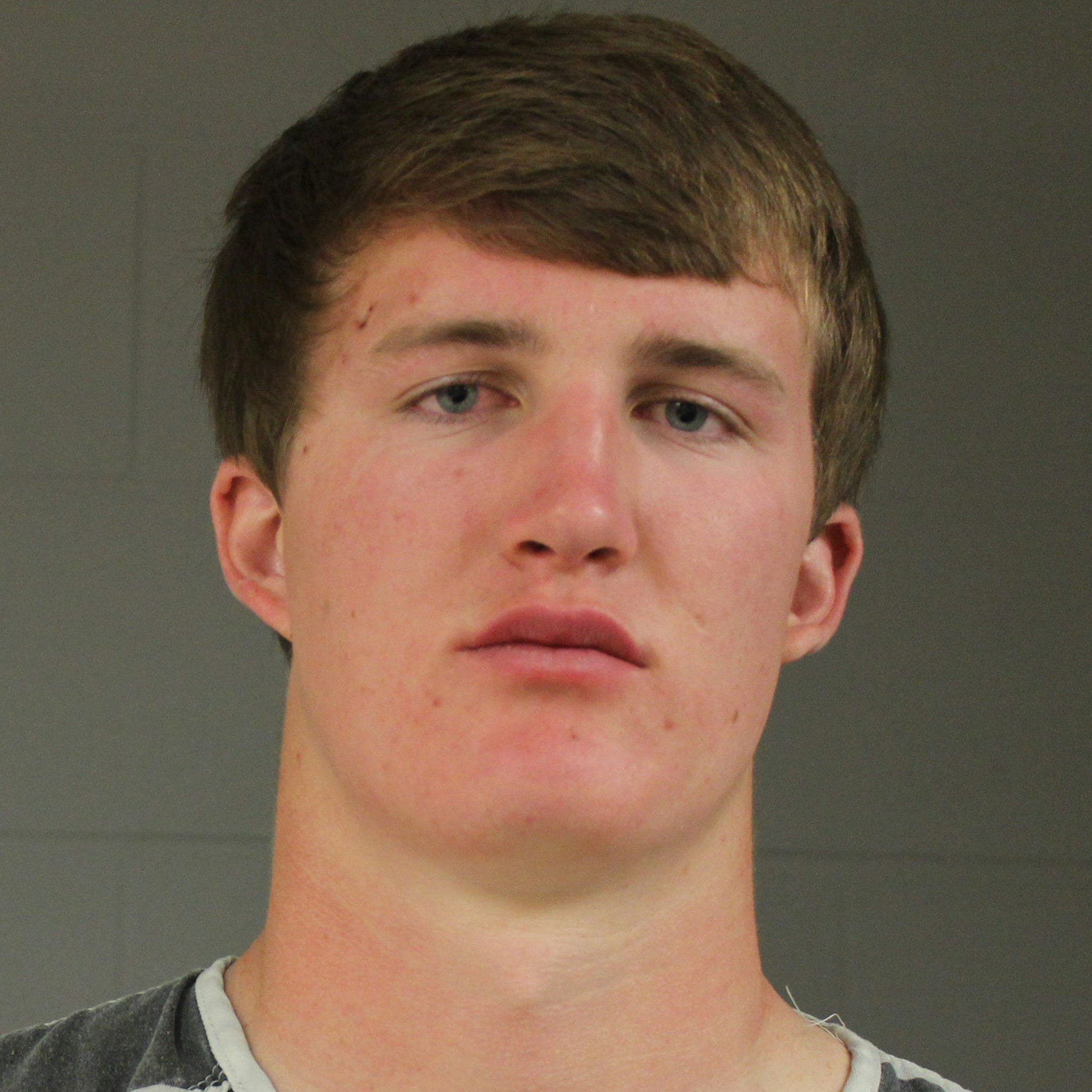 Augustana University football, baseball player charged with burglary, assault