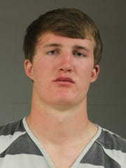 Augustana University athlete Peyton Zabel was arrested Saturday morning and charged with first-degree burglary.
