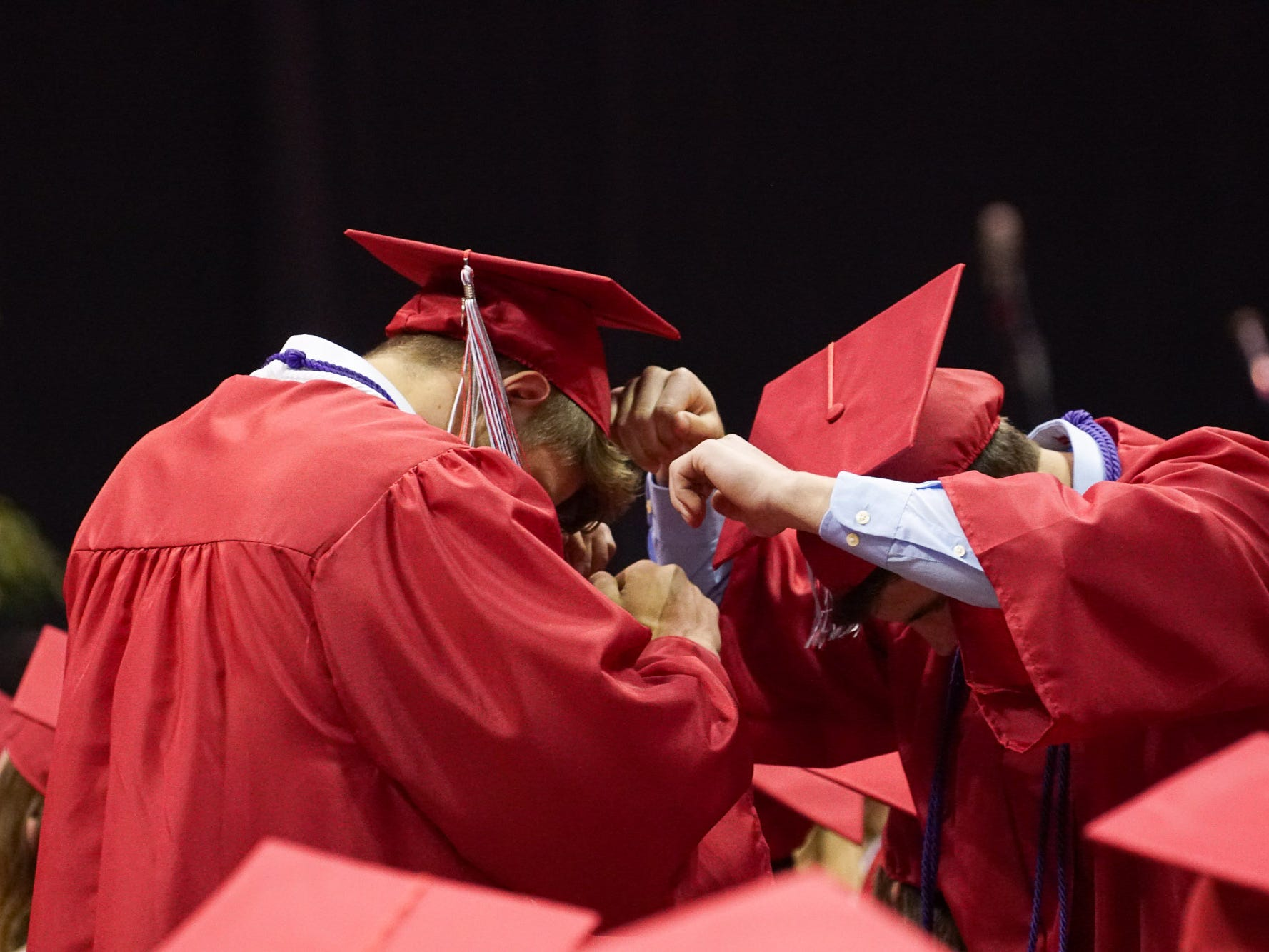 Nixa High School's Class of 2019 graduation ceremony took place at JQH Sunday, May 12, 2019.