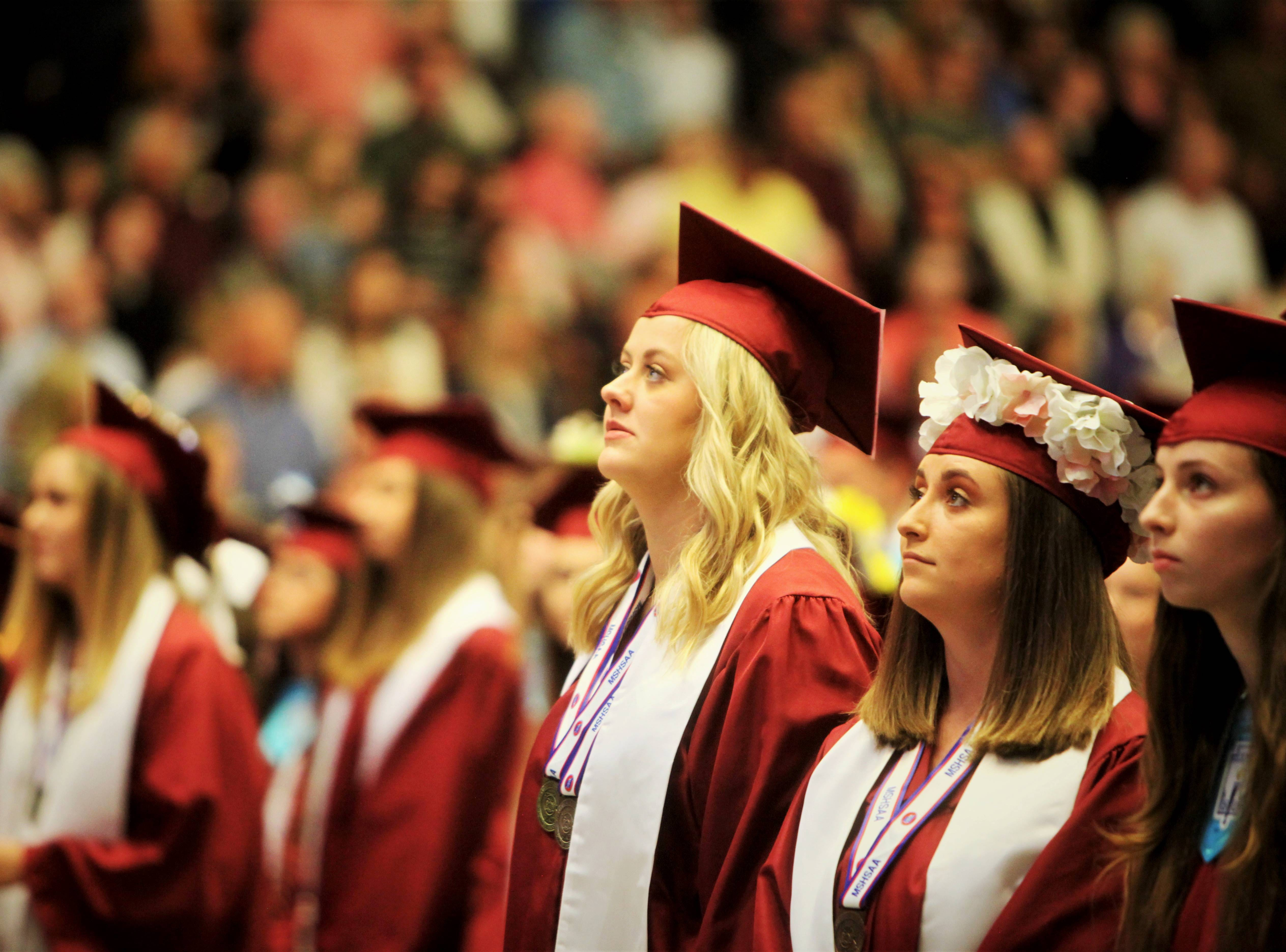 Scenes from Logan-Rogersville High School's graduation Sunday, May 12, 2019, at O'Reilly Family Event Center.