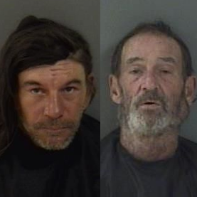 Two men arrested after reported public tryst in downtown Vero Beach caught on camera