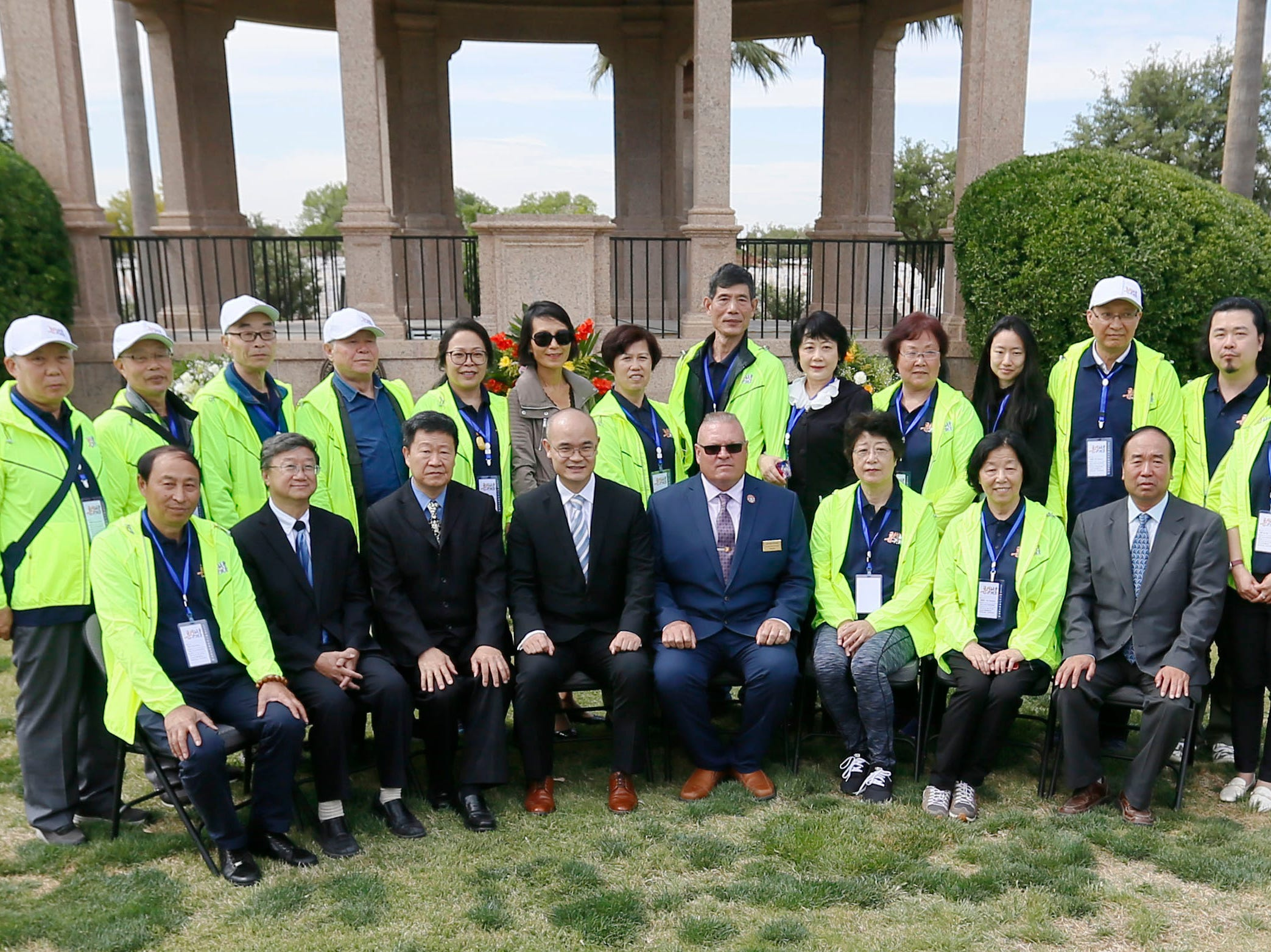 The Hunan LongYue Peace Charity Development Center brought family members to El Paso to pay a special remembrance to their relatives who are amongst the 52 Chinese pilots who died in the U.S. during flight training in World War II.