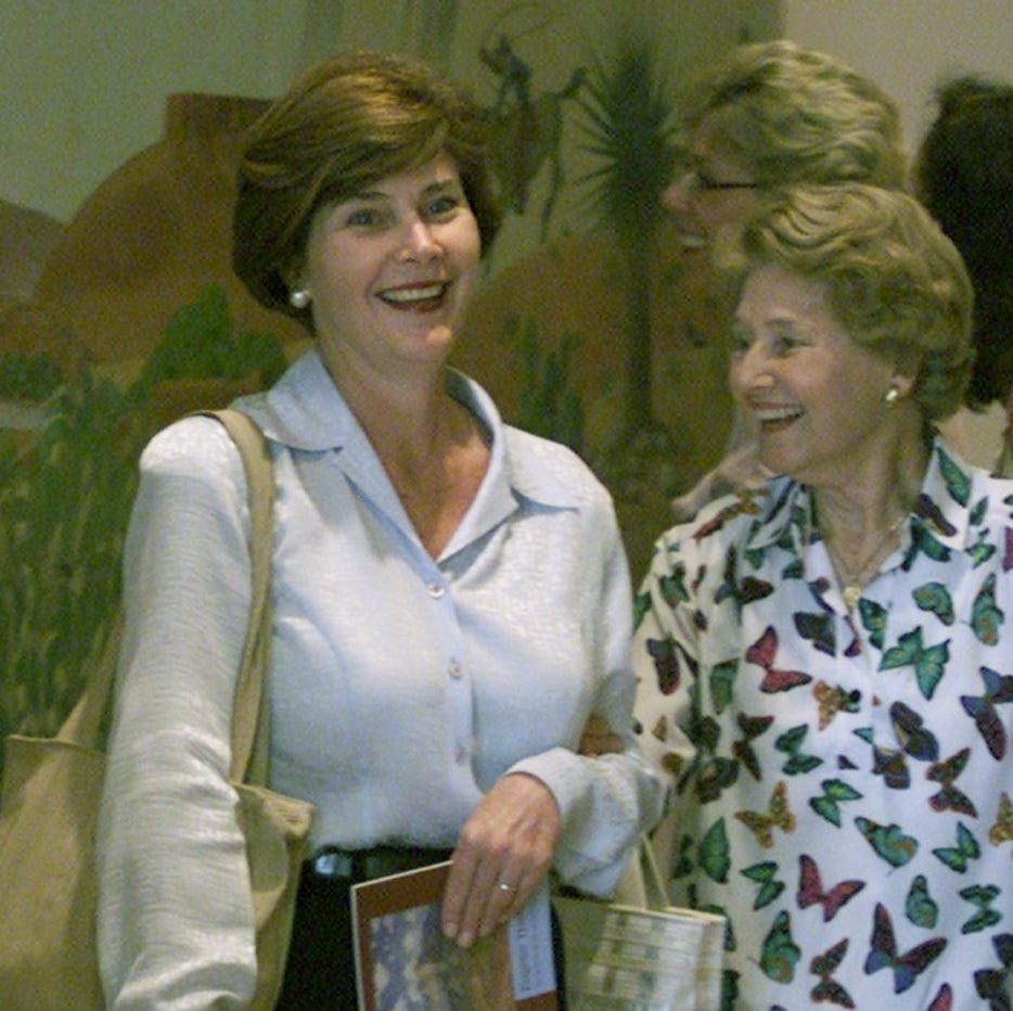 Mother of former first lady Laura Bush dies at 99; Jenna Welch was from El Paso