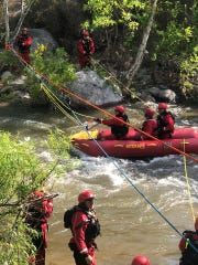 Tulare County's Swiftwater Dive Rescue Team and Search and Rescue Team have been training for a busy summer.