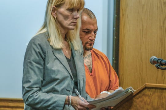 Sergio Retana appears Monday, May 13, 2019, at the Marathon County Circuit Court in Wausau, Wis. T'xer Zhon Kha/USA TODAY NETWORK-Wisconsin
