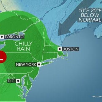 Weather: Historic cold chills area; rain could slow evening commute