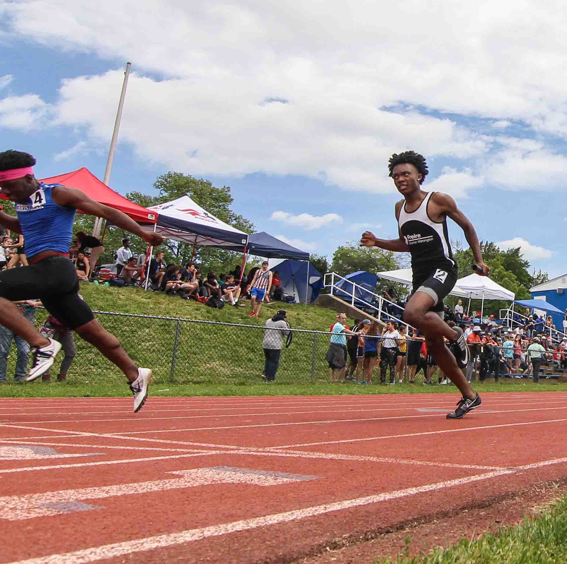 Padua sophomore soars to new height as state track meet starts