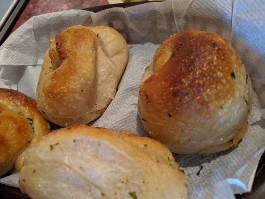 Rolls at Vetoni's Italian Restaurant.