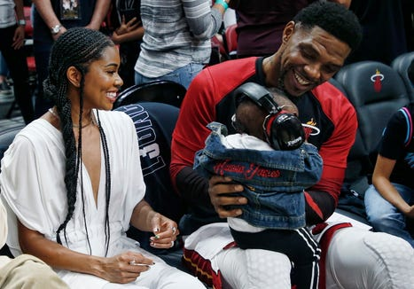 Actress Gabrielle Union shares touching message about motherhood.