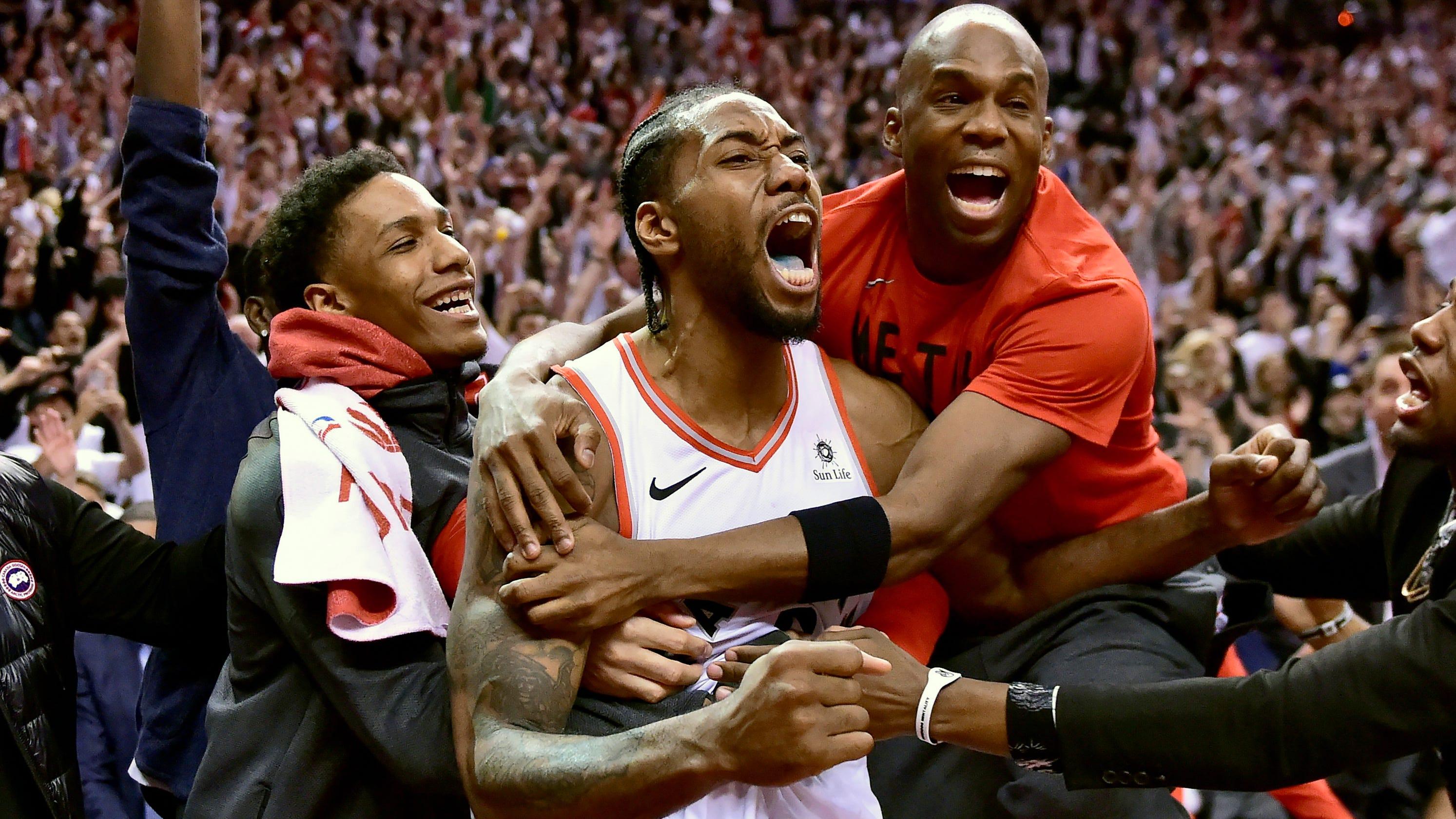 23617286c8db NBA Playoffs  Inside Kawhi Leonard s historic buzzer-beater