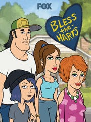 """Bless The Harts,"" Fox's new animated comedy, follows a group of broke Southerners rich in other ways. Kristen Wiig and Maya Rudolph provide voices."