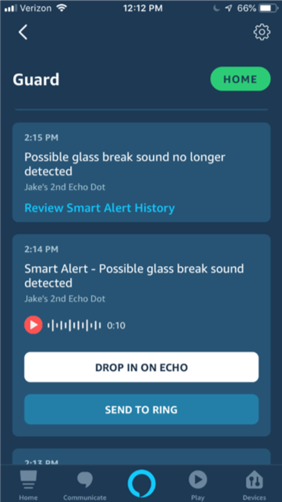How to listen to Echo remotely