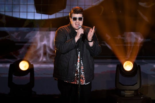 "Wade Cota channeled his inner ""Rocket Man"" Sunday night on ""American Idol."""