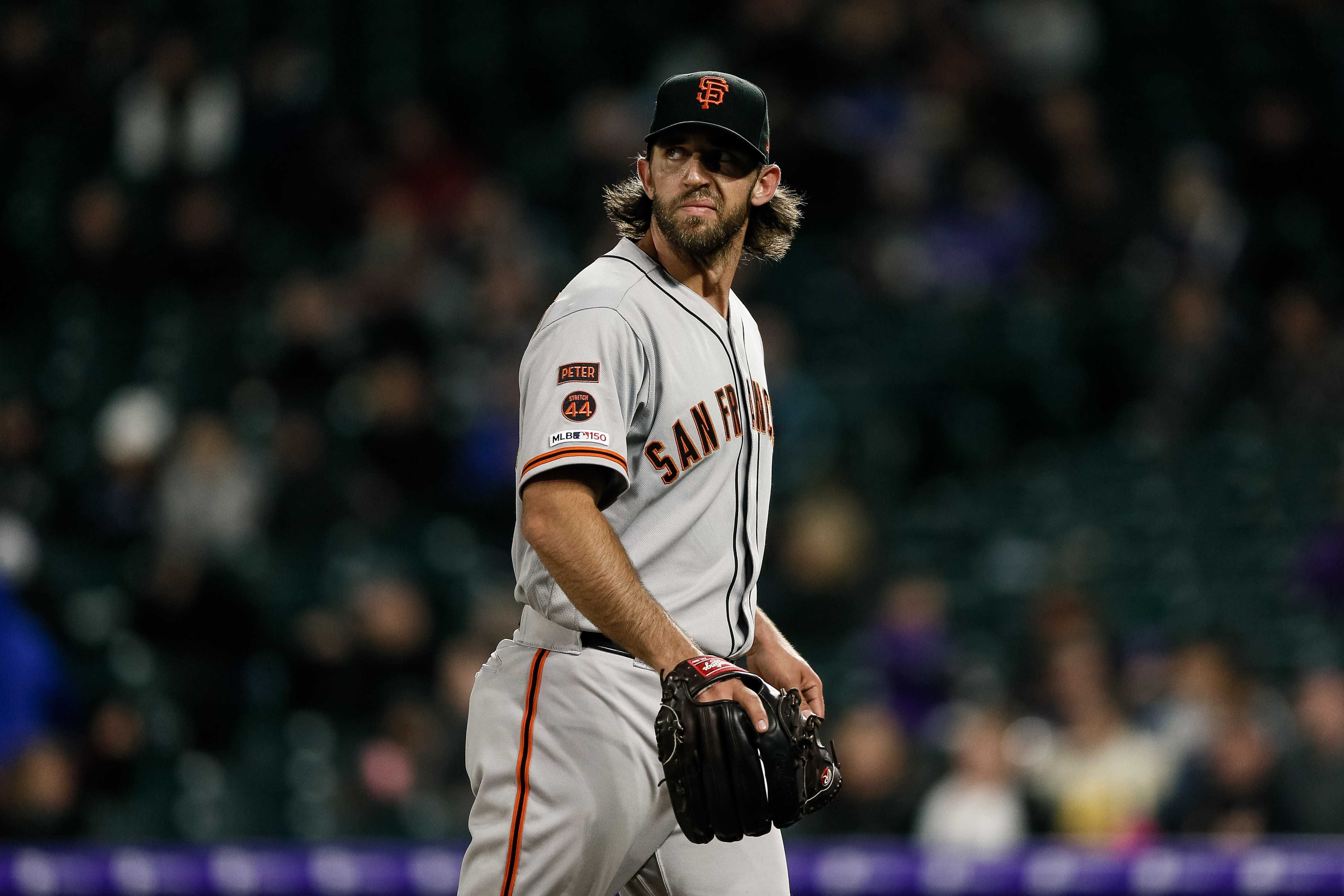 cheap for discount e6bde 32c18 MLB trade talk: Will the Giants trade their ace?