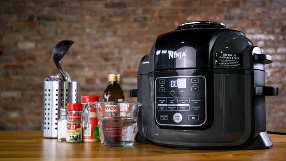 This multi-cooker is basically like having an extra set of hands in the kitchen.