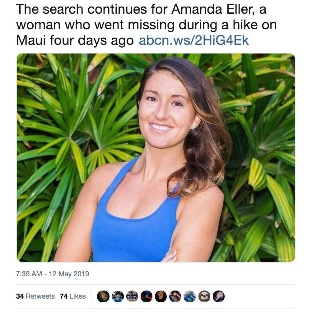 Parents of missing Hawaii hiker last seen on Maui trail offer $10,000 reward