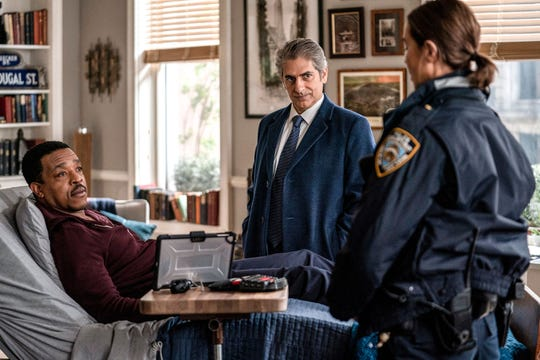"""""""Lincoln"""" (NBC): Based on the novel """"The Bone Collector,"""" Russel Hornsby (left, """"Fences"""") is Lincoln Rhyme, an expert forensic scientist who is asked to help the NYPD find a killer. The series also stars Michael Imperioli (center, """"The Sopranos"""") and Arielle Kebbel (right, """"Midnight, Texas"""")."""