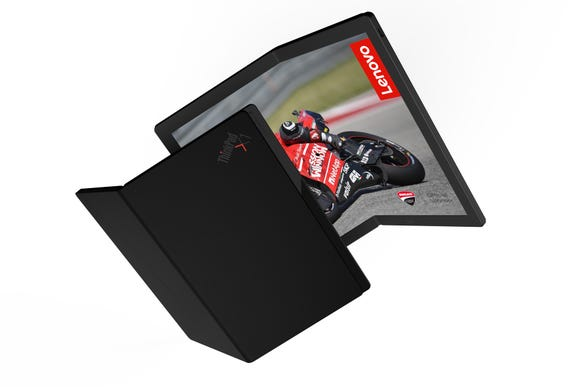 Lenovo's `Foldable PC' laptop.