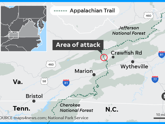 Appalachian Trail machete attack: James L. Jordan charged ...