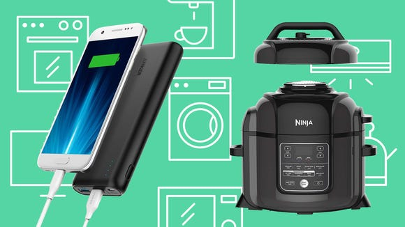 Monday's deals feature tech accessories,  cooking tools, and more.