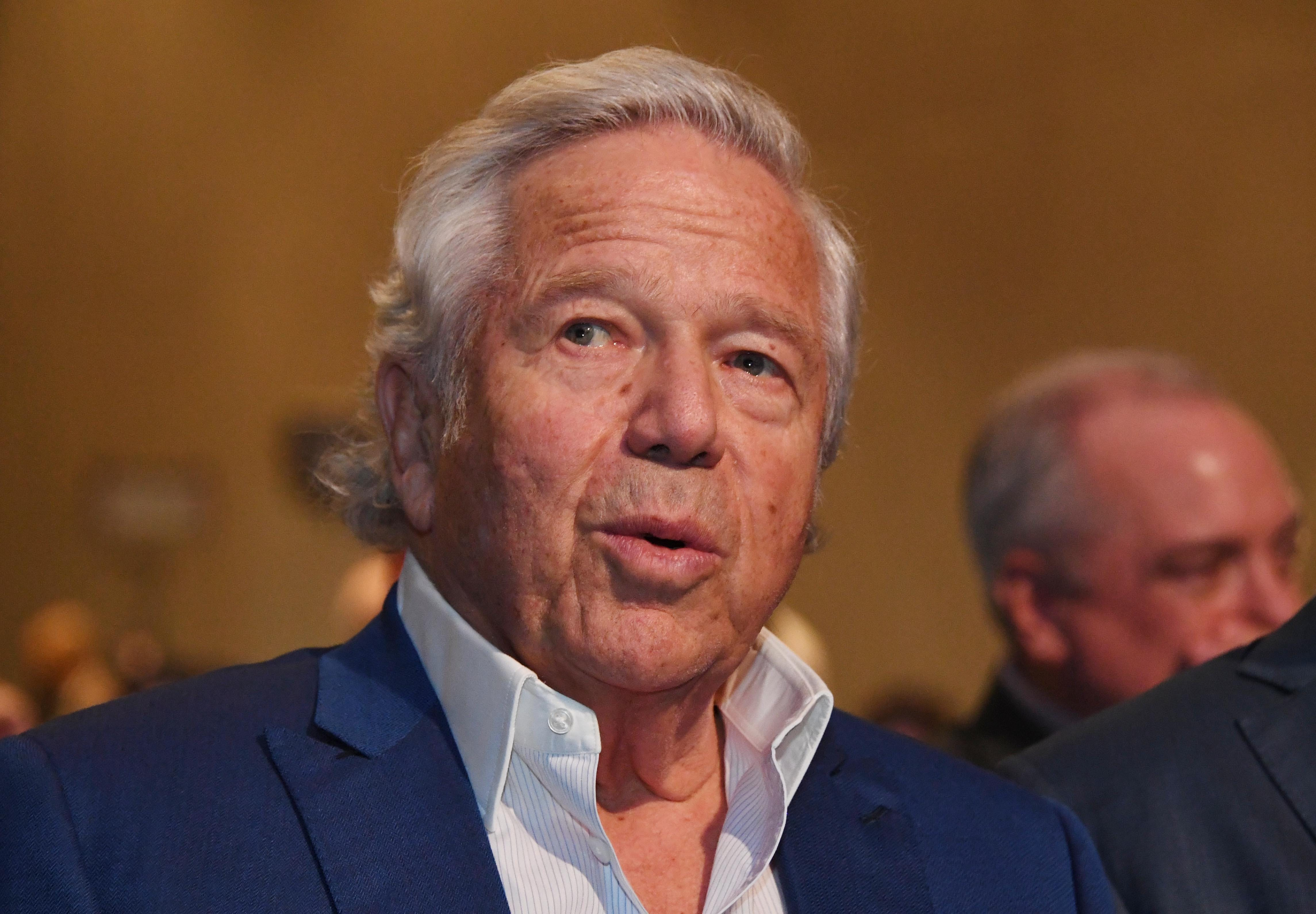 New England Patriots owner Robert Kraft wins video-suppression ruling in solicitation case