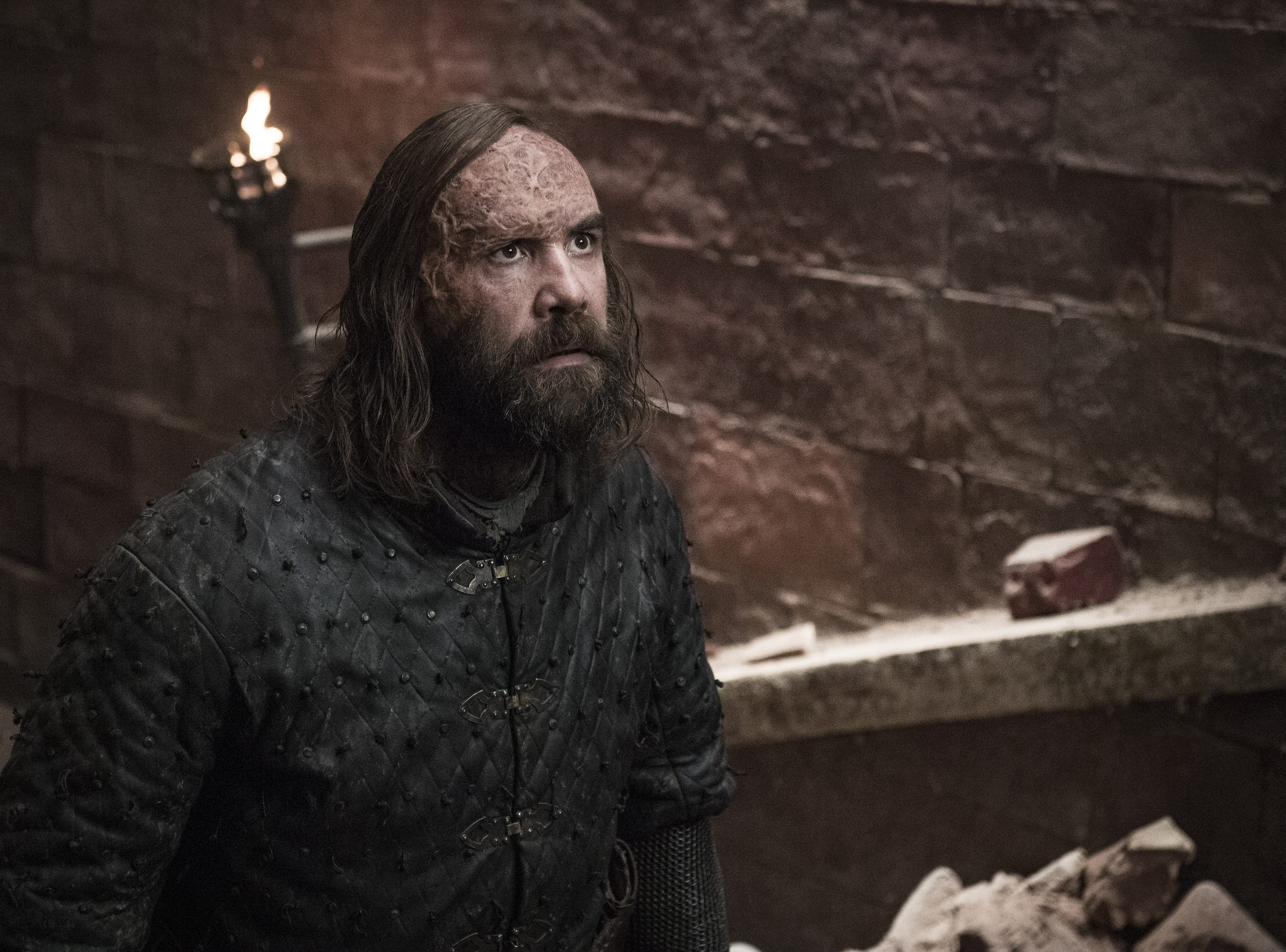Sandor 'The Hound' Clegane (Rory McCann) prepares to take on his brother, 'The Mountain,' in the much-awaited Cleganebowl.
