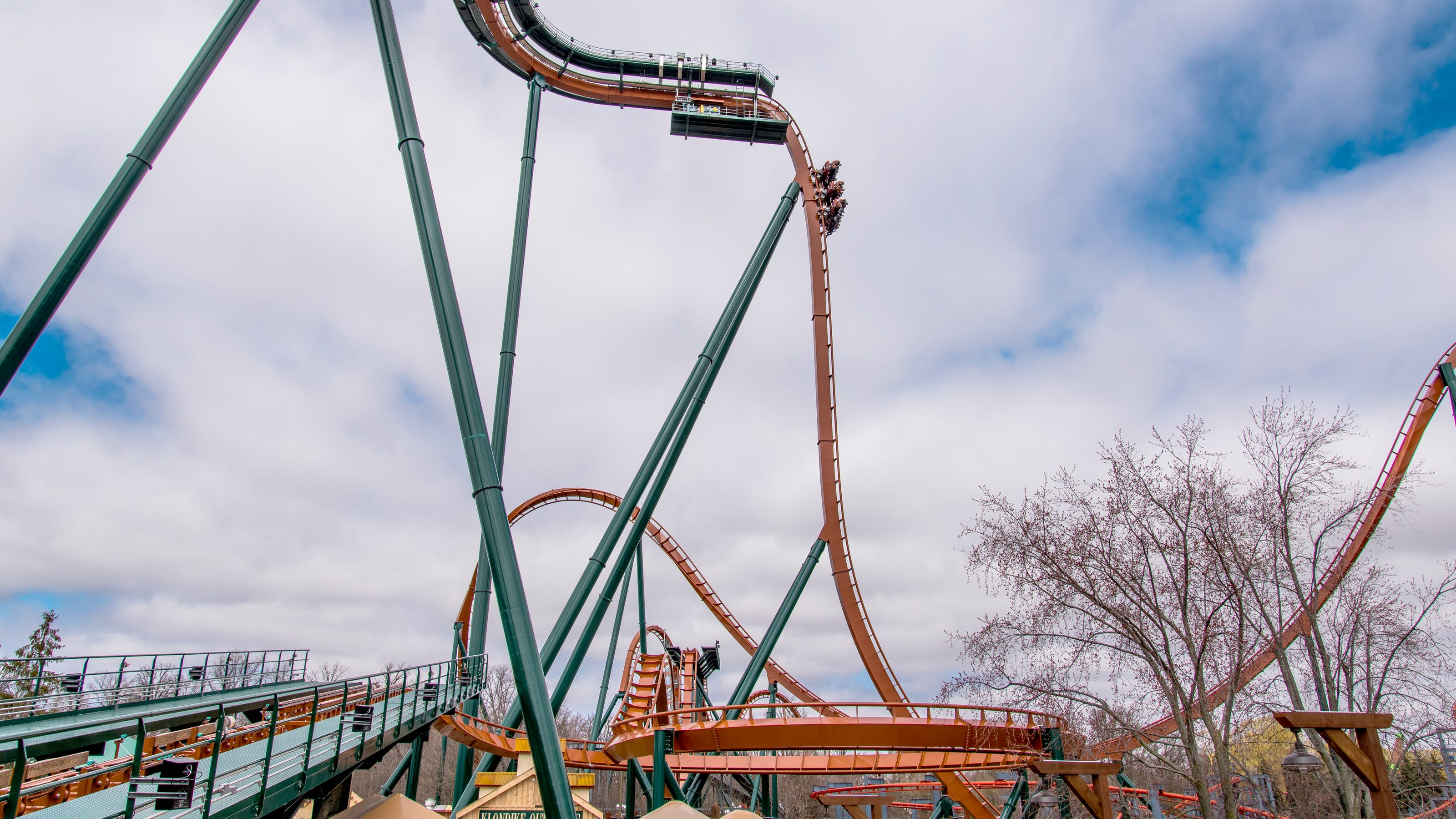 Yukon Striker roller coaster opens at Canada's Wonderland