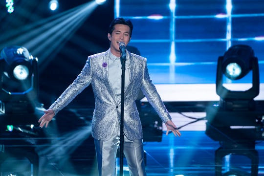 """According to the judges, there was just """"Something About the Way"""" Laine Hardy """"Looked Tonight."""""""