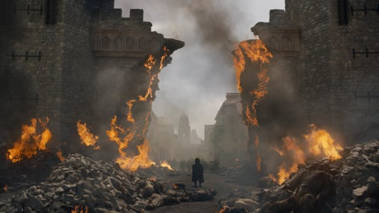 The end of Game of Thrones happens this weekend.