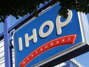 An IHOP manager had to be hospitalized after a group of customers assaulted him for charging for orange juice refills.