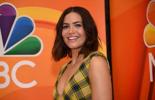 "Mandy Moore is spending some of her time away from ""This Is Us"" in Nepal."