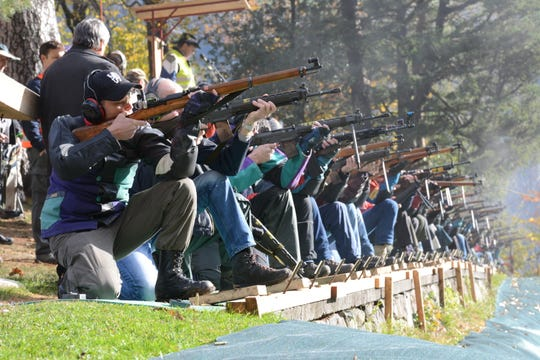 Shooting is a popular sport in Switzerland, where families are often seen in the headline for the range carrying their guns. Switzerland will vote in 2019 19 May To decide if it should adopt stricter EU arms control rules.